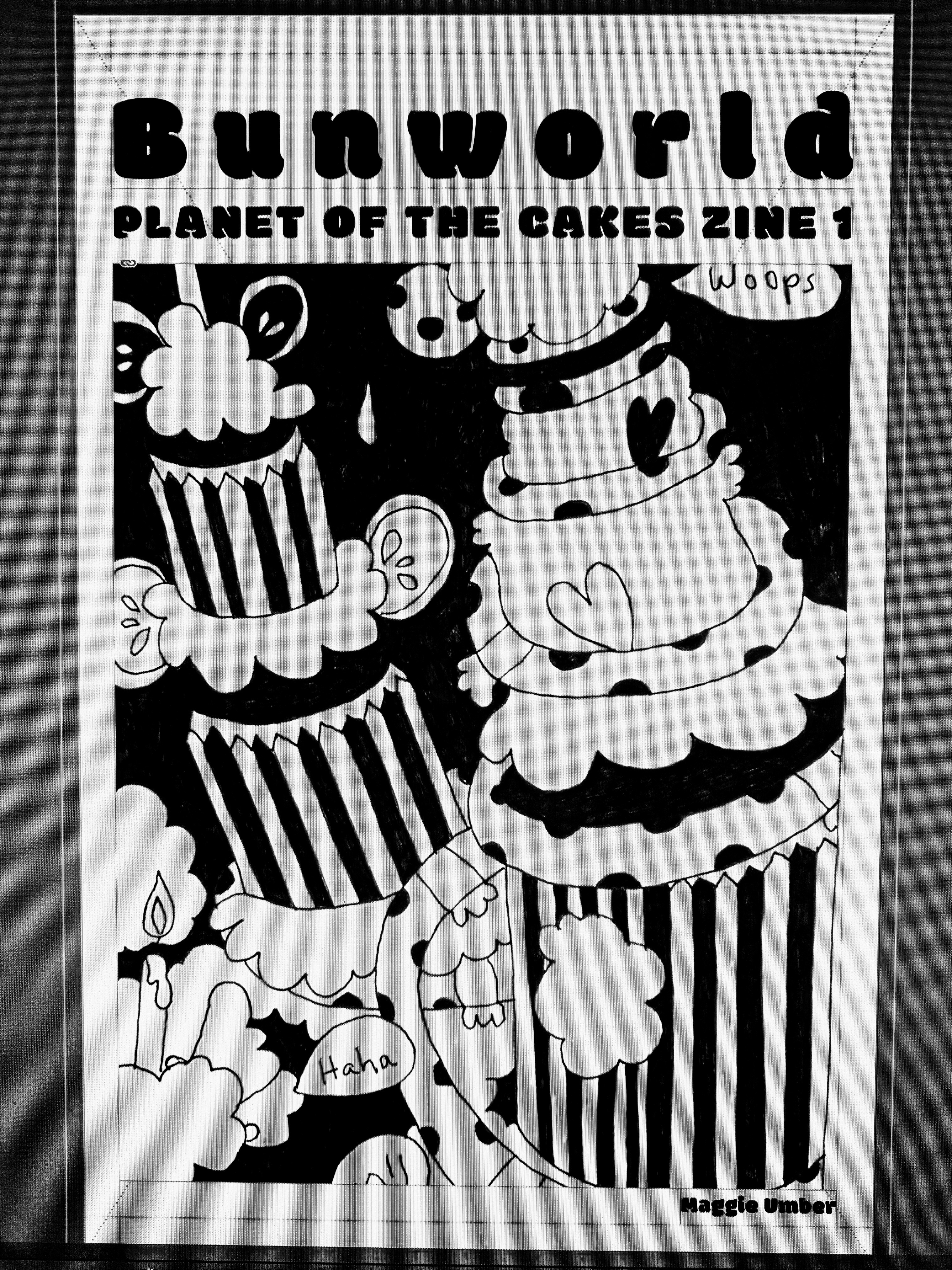 Bunworld: Planet of the Cakes Zine 1 by Maggie Umber