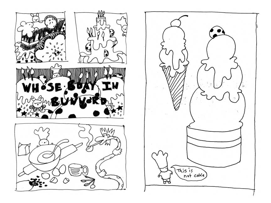 Bunworld: Planet of the Cakes Zine 1 Preview Page 1