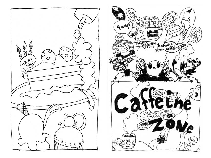 Bunworld: Planet of the Cakes Zine 1 Preview Page 3